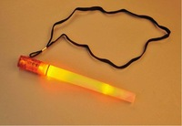 Outdoor Mountaineering Rescue Camping Flashing Signal Lights Glow Sticks Flashlight Life Whistle,Wholesale,Free Shipping,qw
