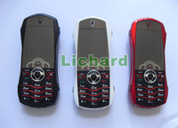 Мобильный телефон Luxury Car Phone F9 Dual Band Dual Sim Metal Cover Russian Keyboard