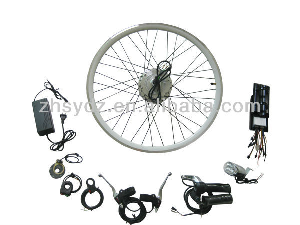 36v 250w rear electric bicycle motor kit for ebike