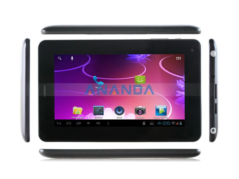 7 INCH allwinner a13 Tablet Sim Card Slot Q88 GSM