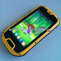 """Мобильный телефон 2013 New Quad core 4.3"""" android smart phone waterproof phone rugged phone with GPS/WIFI/NFC S09"""