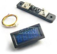 Измеритель величины тока DC 0-20A LCD Blue Digital Amp Meter for System Monitoring EG2163
