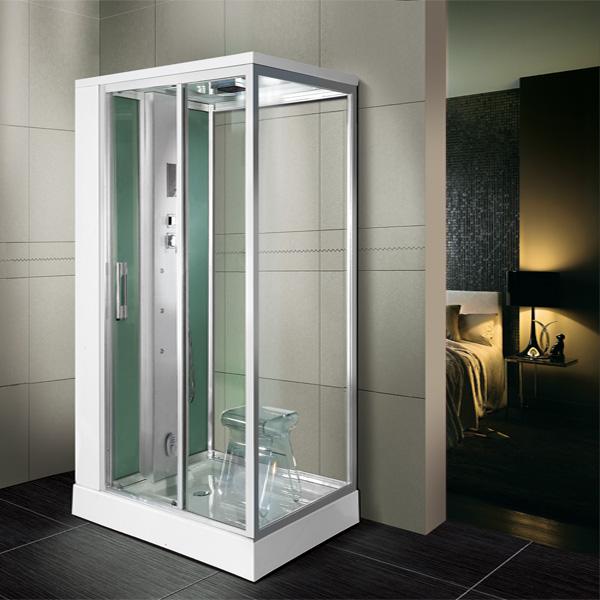 luxe rectangulaire hot vente autoportante coin salle de bains cabine de douche - Salle De Bain De Luxe Cabine Au Coin