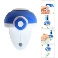 Blue Bathroom Fashionable Hands Free Toothpaste Automatic Squeezer Dispenser