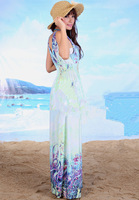 Женское платье New Fashion Style Lady Women Bodycon Bohemian Pencil Vest Sexy Floor-length Beach Casual Maxi Elegant color Long Dress S133