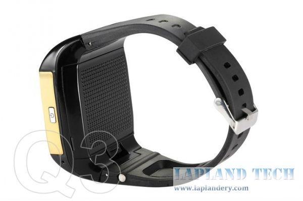 Dual SIM card Touch screen Quadband keypad Smart watch mobile phone Q3