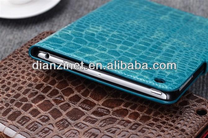 Stand Crocodile Leather Smart Cover Case For APPLE iPad mini with Retina Display (iPad mini 2)