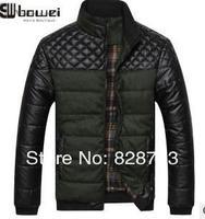 Мужская одежда новый мужской досуг куртка Осенняя стеганые куртки бизнес Мужская одежда 90
