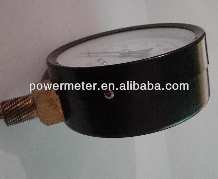 ( y-- 100) 100mm الأسود الصلب المنخفضة والعالية قياس الضغط الجوي