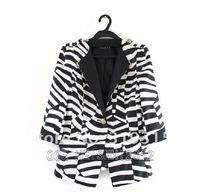 free shipping! 100%quality,2013 classic striped blazer brand,women's suits, women's formal blazers, jackets/coat