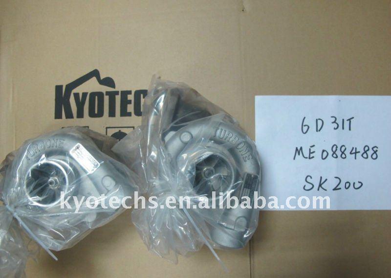 6D31T ME088488 SK200 turbocharger