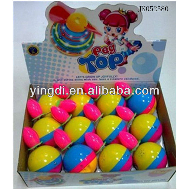 kids toy tops top selling toys magnetic top with light without battery