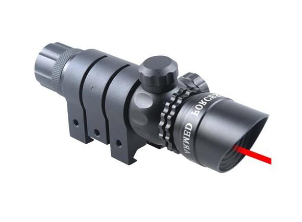 Винтовочный оптический прицел Cx Hunting Tactical Adjustable Red Dot Laser Sight Scope w/20 mm Mount for Airsoft Pistol Gun s-107