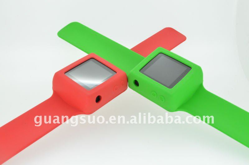 OEM Silicone Colorful Fashion Newest MP4 Watch