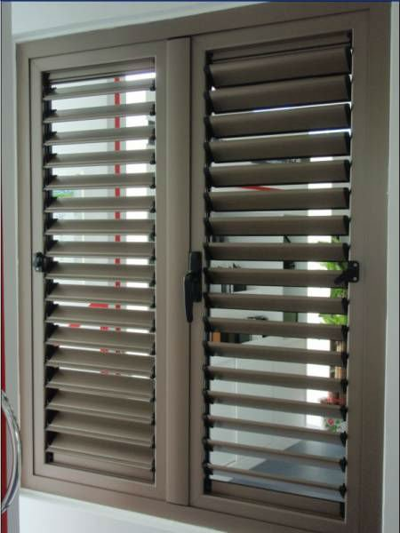 Metal window louver shutter buy metal window louver for Une jalousie fenetre