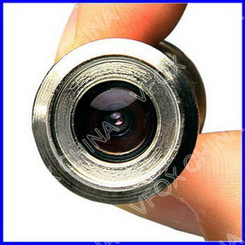 Mini door eye hole security camera covert for Door eye hole