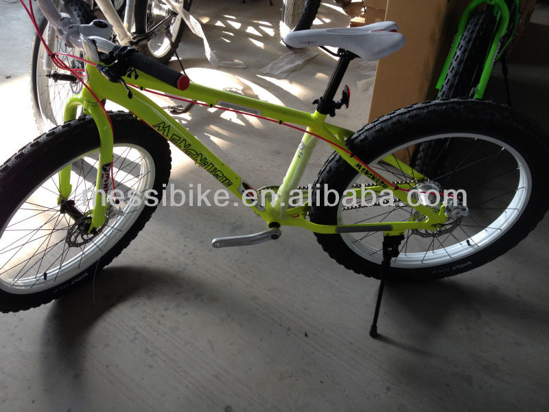 """2014 New Fat Tire Mtb Bikes/new Big Tyre Mountain Bicycles/26""""*4.0 ..."""