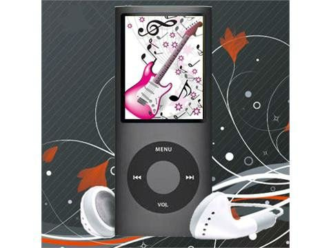 NEW 9 Colours 8GB FM VIDEO 4TH GEN MP3 MP4 Participant FREE Transport