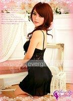 Одежда и Аксессуары New Sexy Lady's Black Lingerie Babydoll Nightwear Dress S/M #FN0313A