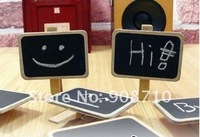 Канцелярский зажим New Fashion Cute Special Gift Small wooden clip/Wooden Blackboard Clip/Paper Clip board/Message Folders