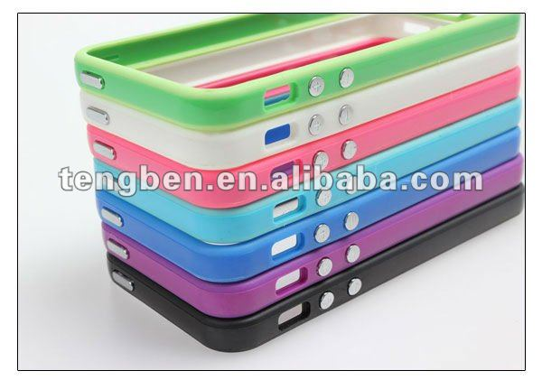 2013 new accessories for iPhone ( for iphone 5 TPU bumper)