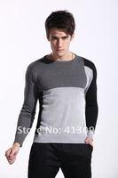Мужской пуловер 2012 autumn outfit new man leisure sweater line unlined upper garment sweater size M-2XL, store NO 413092