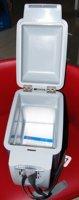 Холодильник Hot sell! EMS! NFA 7L icebox, Mini car refrigerator/cooler and warmer box.Blue and white color.5229-NFAzer