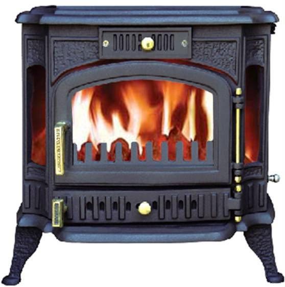 Hierro fundido estufas verdadero fuego chimenea estufa for Chimenea hierro fundido