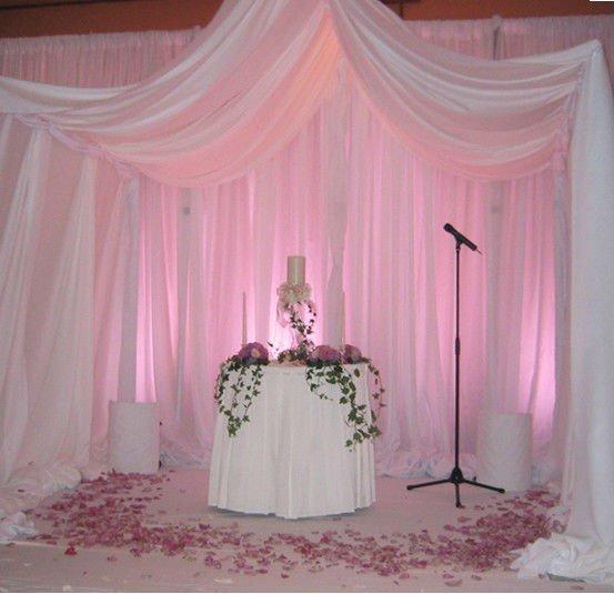 Pura cortina de tecido com tubo para decora o da parede - Telas para paredes decoracion ...