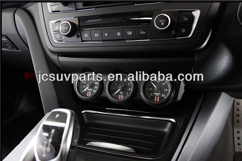 Abs negro salpicadero del coche para bmw f30 estilo 3d - Decoracion interior coche ...