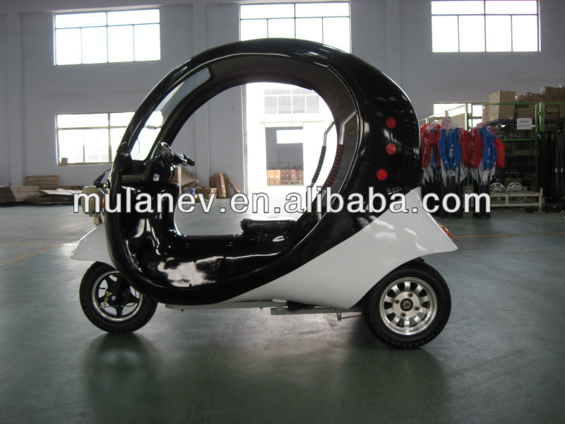 Passenger Three Wheel Motorcycle Covered