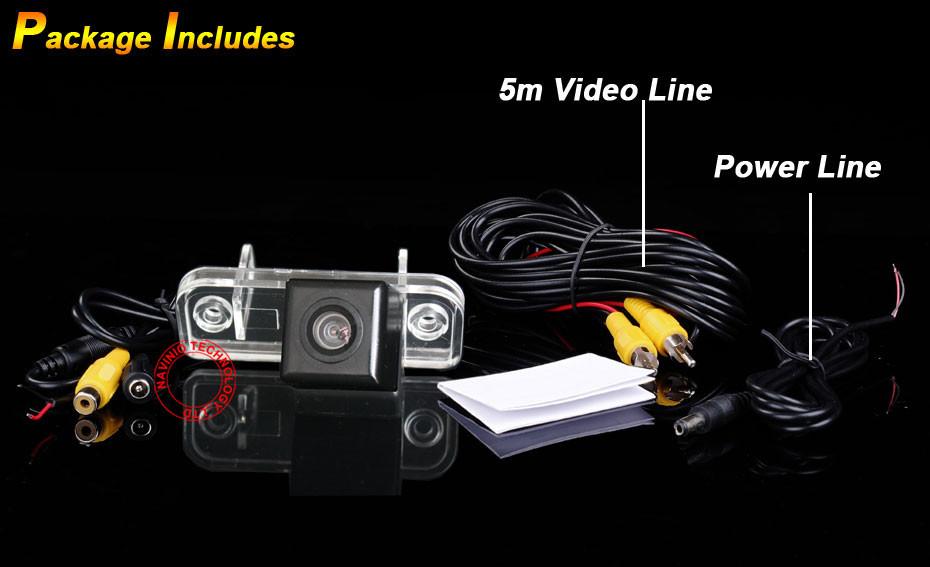 Камера заднего вида Navinio MerCedes Benz C W203 /e W211 /Cls 300 W219
