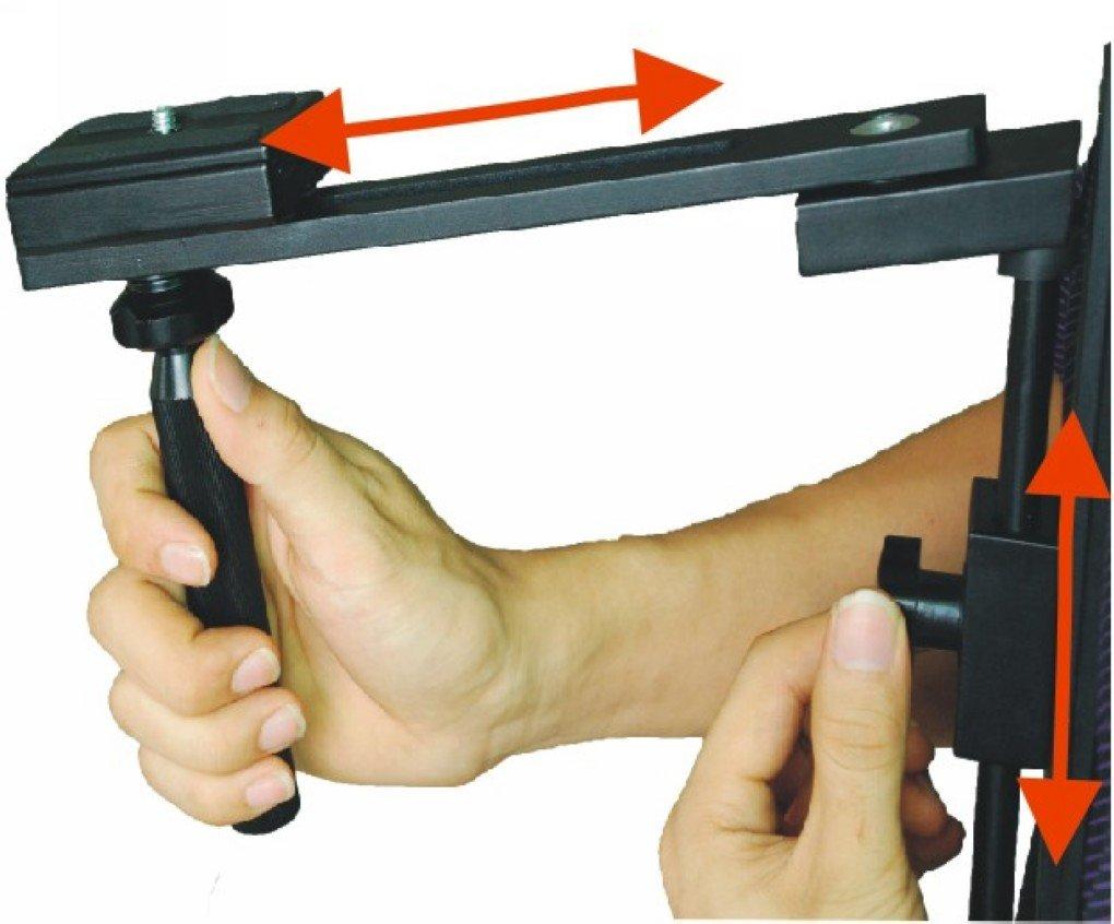 Beike aluminium bracket video tripod shoulder pad support MBL-460 BK-460