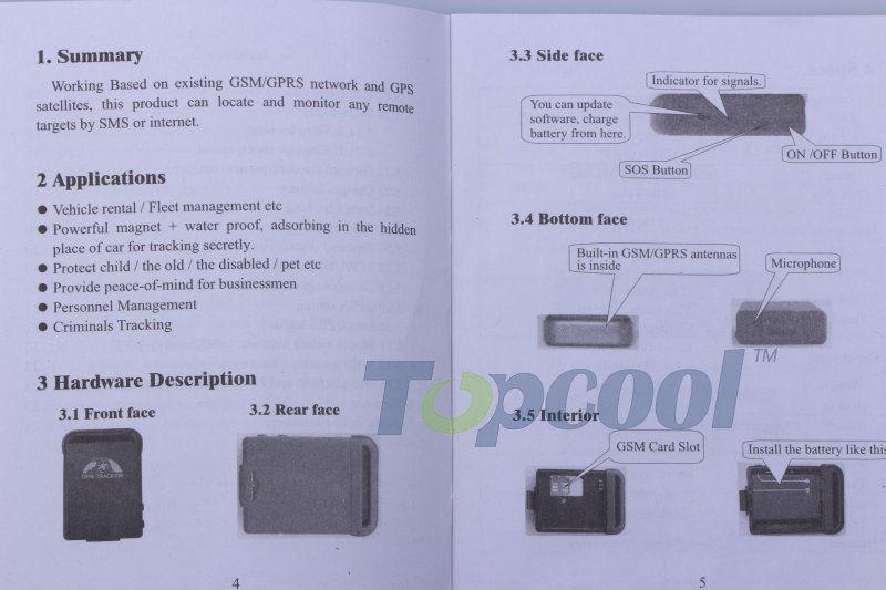 Gps трекер tk102b инструкция на русском