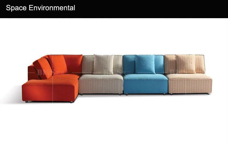 stile mediterraneo colorato divano componibile-Divani di ...