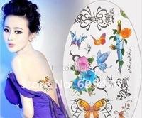 Товары для макияжа 100pcs/lot Tattoo Stencil