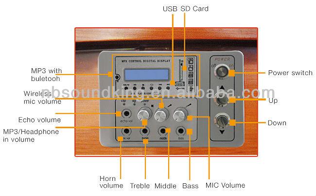 Multi-function wooden multimedia intelligent lectern PT01