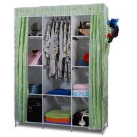 одежда гардероб шкаф шкаф для хранения организатор clothespress холст шкаф для экономии пространства шкафы шкаф металлический шкаф трубы