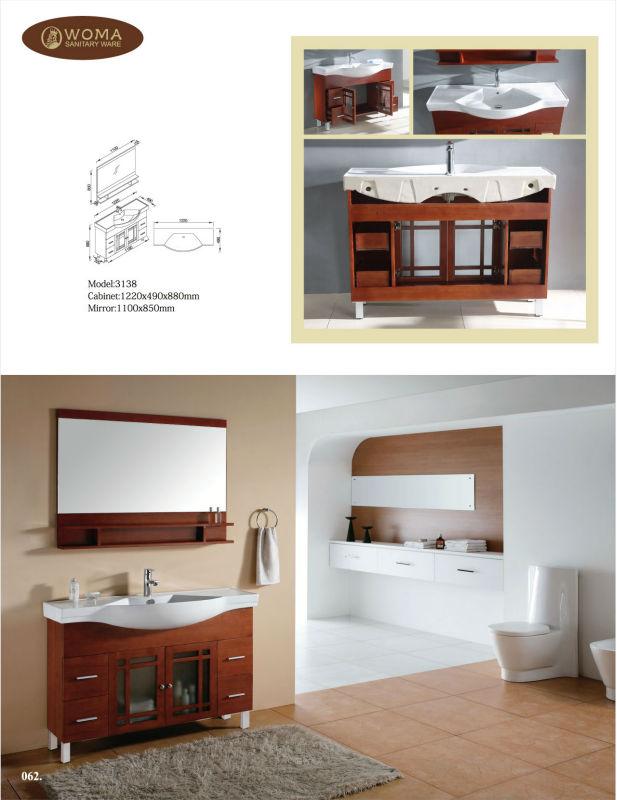 Classique meubles de salle de bains vier et armoire unit - Meuble salle de bain en coin ...
