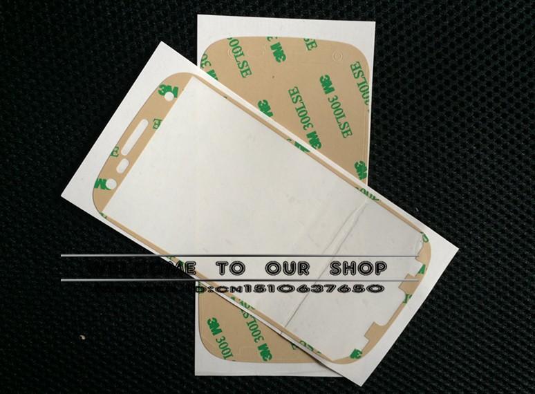Стразы для мобильных телефонов 3000pcs/lot Adhesive glue for Samsung Galaxy S3 for i9300 3M adhesive sticker DHL