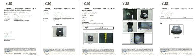 China Manufacturer Waterproof IP67 Heavry Duty Electronic Case, Polypropylene Waterproof Case with Foam (Case512717)