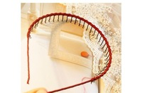 Ювелирное украшение для волос Fashion Hand-made Braiding Z Wave Narrow Hairbands, Curtain Comb Hair Jewelry, 5 colors to choose