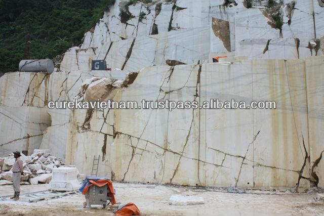 Vietnam white marble block