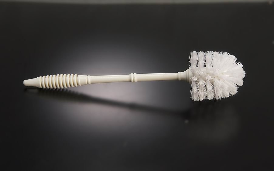 toilet brush with long handle,plastic toilet brush