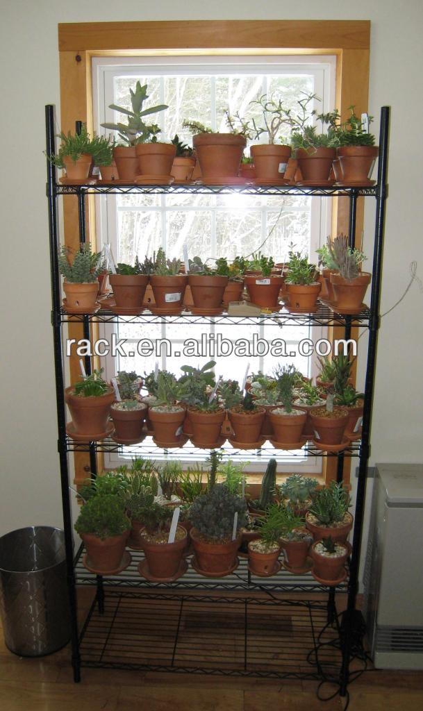 Factory Produce Outdoor Indoor Plant Shelves Nsf Approval