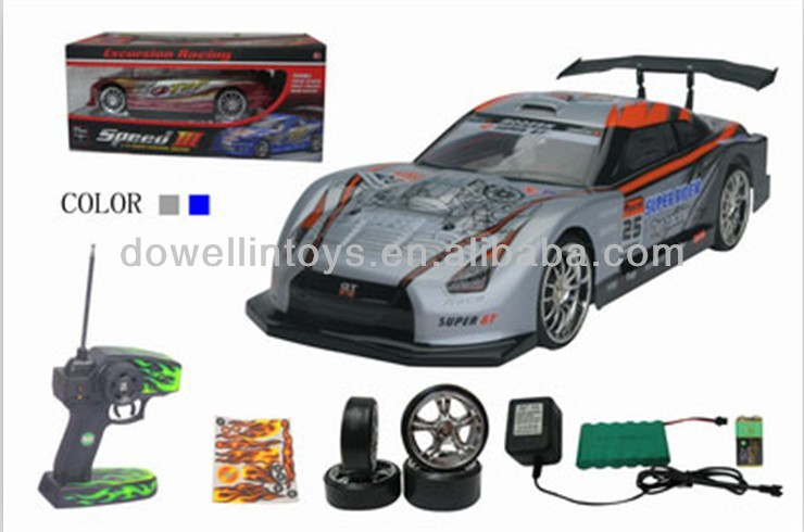 1:14 Scale high speed rc drift car (Colors May Vary)