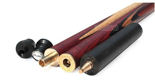 U.S.A FURY Snooker 3/4 Billiards Cue SN-101 Cue+Chalk+Cue case/selected ASH wood