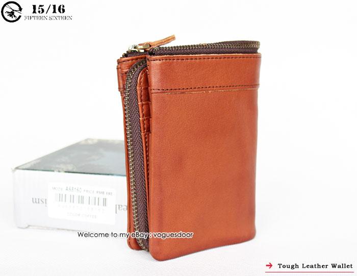 новые жесткие панк-натуральная кожа АГРАФ Мужские женские кошелек кошелек a68160nwt