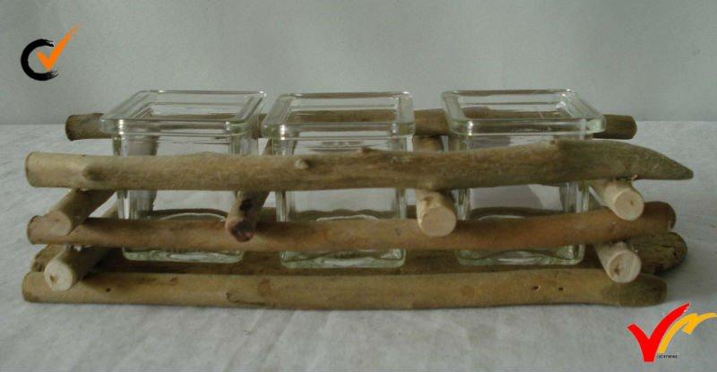 wood glass holder 2