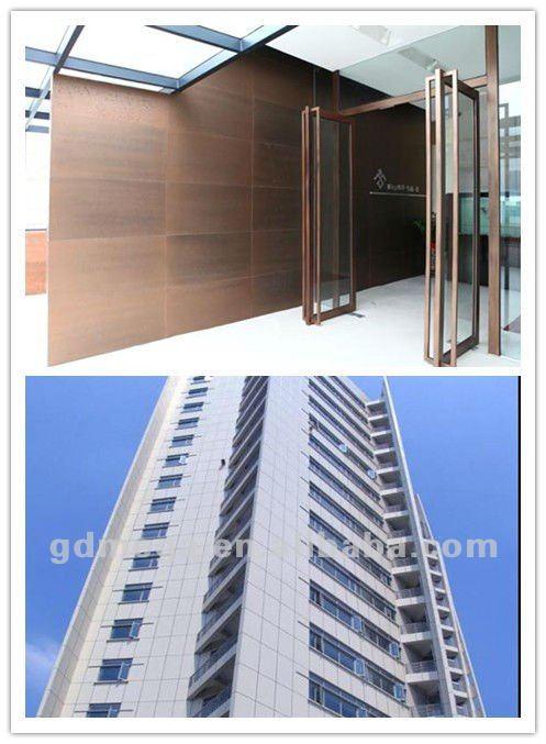 exterior house siding light wall metal panel MJ402
